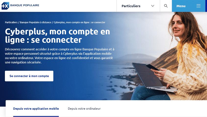 Cyberplus : l'espace client digitalisé de la Banque Populaire